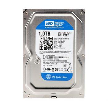 "Жёсткий диск HDD 1Tb Western Digital Blue 7200pm 64Mb 3,5"" WD10EZEX"
